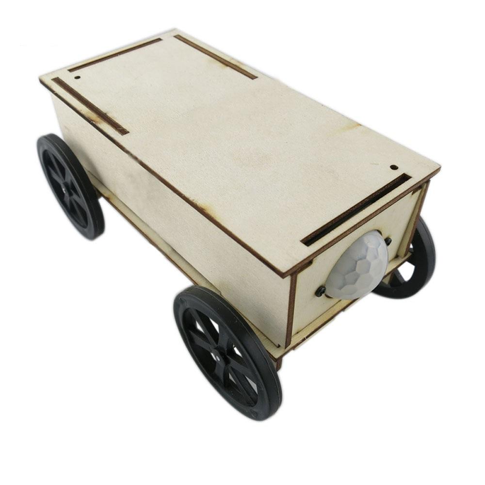 Xe cảm ứng tự động - đồ chơi STEM - đồ chơi mô hình - đồ chơi lắp ráp