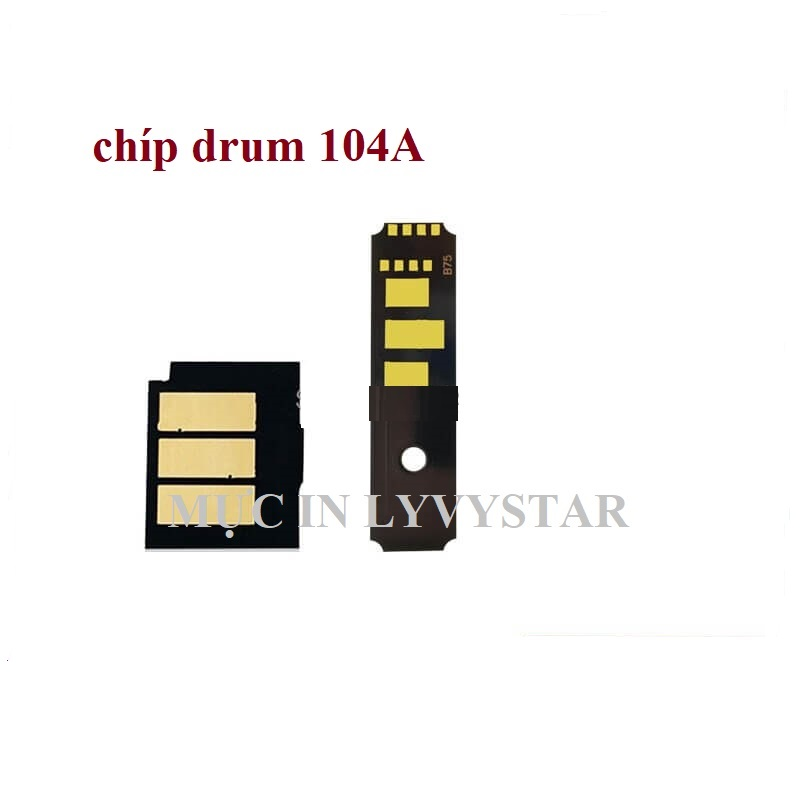 Chíp drum 104A cho máy in hp 1000w/1000a/1200w/1200a