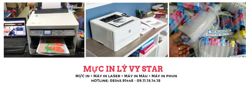 muc in lyvystar chuyên cung cấp mực in máy in chính hãng