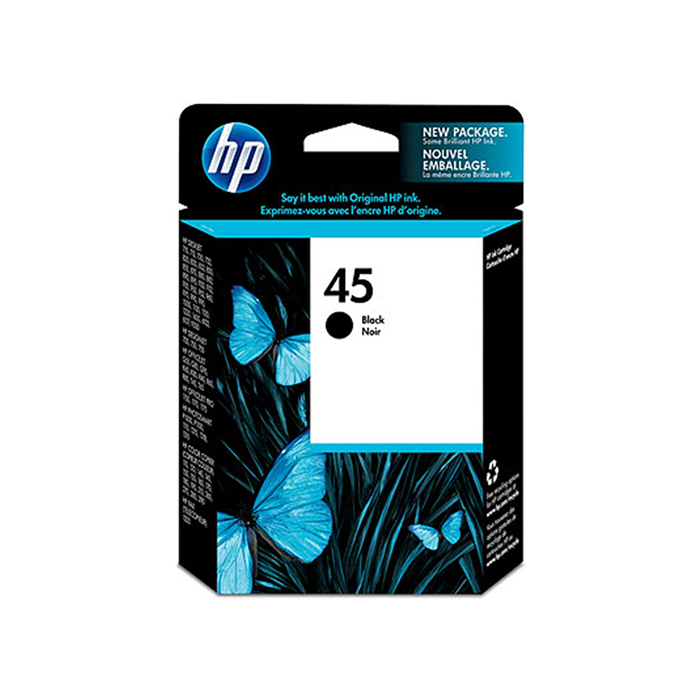 Mực in HP 45 Black Inkjet Print Cartridge (51645A)
