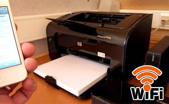 Máy in thanh lý HP 1102w in qua  wifi in bang điện thoại tại quận 6 hcm