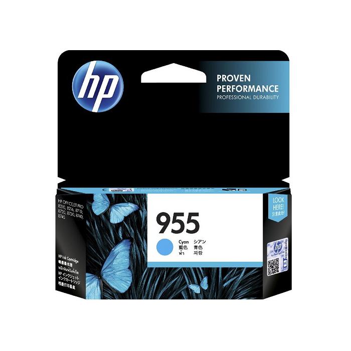 Mực in HP 955 Cyan Original Ink Cartridge (L0S51AA)