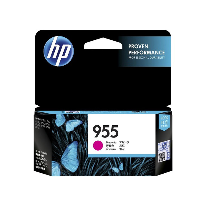 Mực in HP 955 Magenta Original Ink Cartridge (L0S54AA)