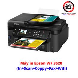 Máy in phun màu đa chức năng Epson WF-3520