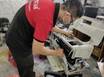 Vệ sinh máy in phun màu Epson lâu ngày không sử dụng tại HCM