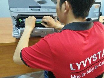 Thay mực máy in Brother MFC-L2701DW tận nơi tại HCM