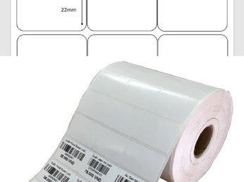 Giấy in mã vạch 3 tem (decal cuộn 1 hàng 3 tem) có độ keo bám chất lượng tại Phú Quôc Kiên Giang