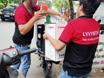cung cấp máy in canon 252dw in qua wifi và in đảo mặt tại CÀ MAU