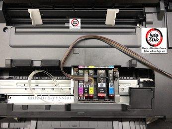 Hướng dẫn lắp hệ thống mực liên tục Canon ix6860 tiết kiệm mực tại HCM