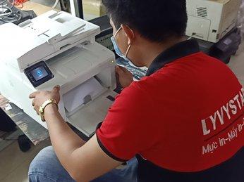 Bơm mực in-nạp mực in-sửa chữa máy in tại quận 6 tphcm