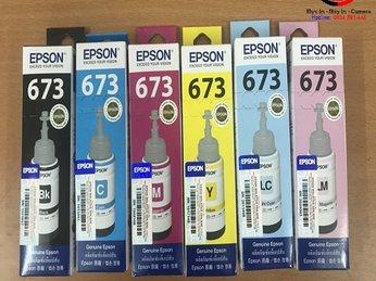 Mực máy in màu Epson L805/L1800  có nên mua mực rẻ tiền hay không ?