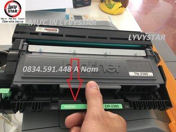 [Tư Vấn]Hộp mực brother-TN2385 in bị mờ nhạt sau thời gian nạp mực lại