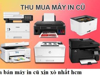 Giá máy in cũ chính hãng giá rẻ tp hcm
