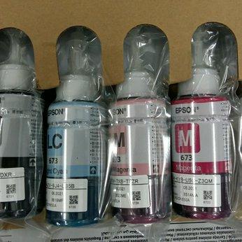Mực nước in Phun màu Epson T673 dung tích 70ml - Dùng cho Epson L800/ L805/ L850/ L1800