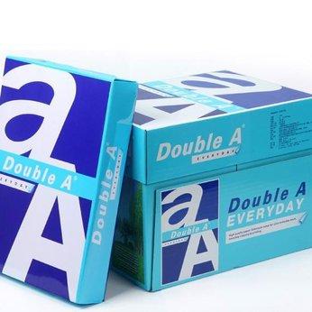 Giấy Double A chính hãng khổ A4 định lượng 70g 1 thùng 5 gram