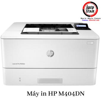 Cung cấp sỉ lẻ mua bán máy in laser đen trắng HP M404DN sử dụng hộp mực 76A