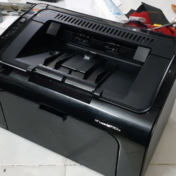 Bán máy in cũ in qua wifi hp 1102w trắng đen in qua điện thoại-Ipad