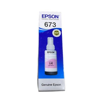 Mực in Epson T673 Light Magenta Ink Cartridge