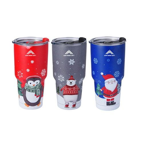 Ly giữ nhiệt 900ml in logo - Anh Minh Gift - 0938492278