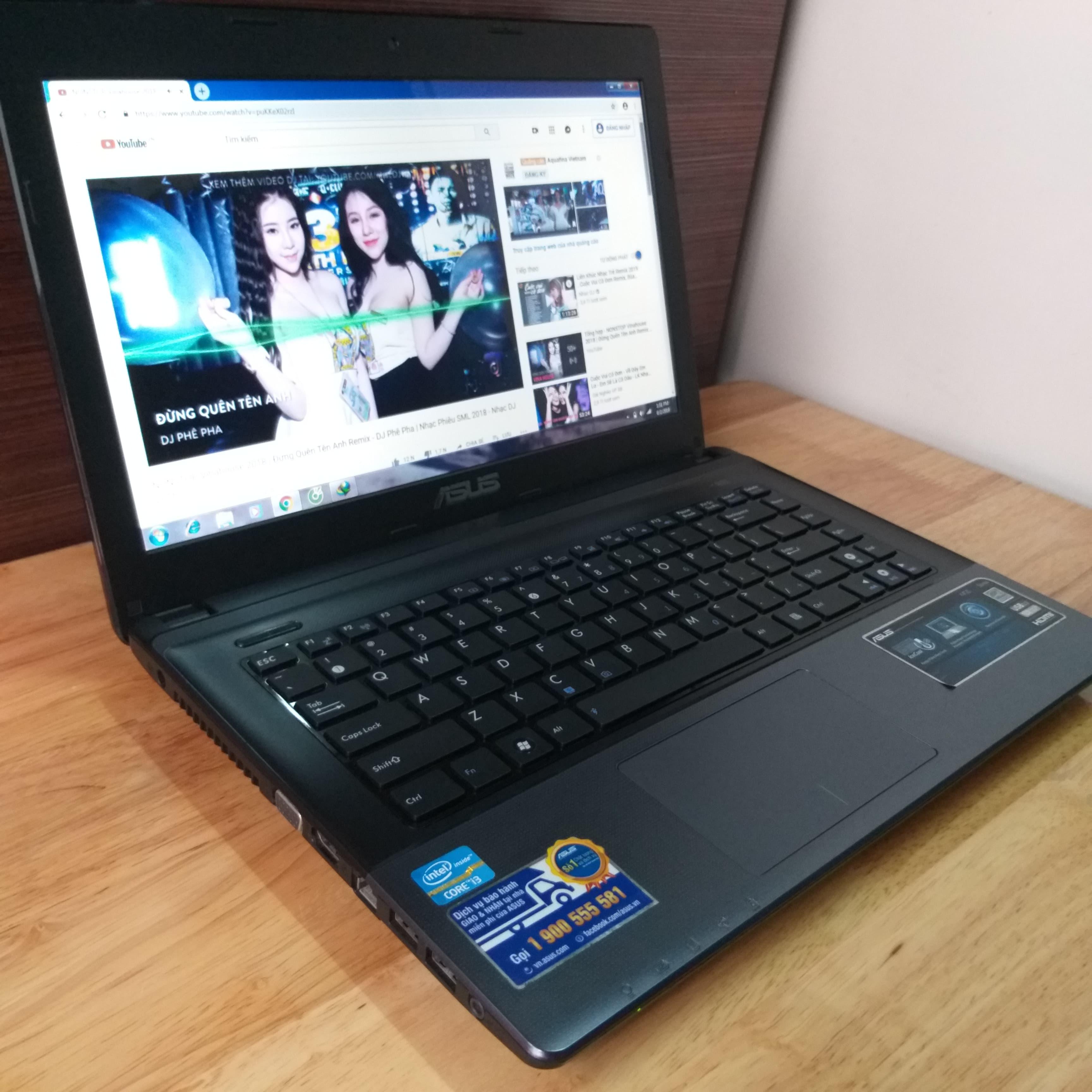 Laptop Asus X45C, I3 2370M RAM 4GB HDD 500GB