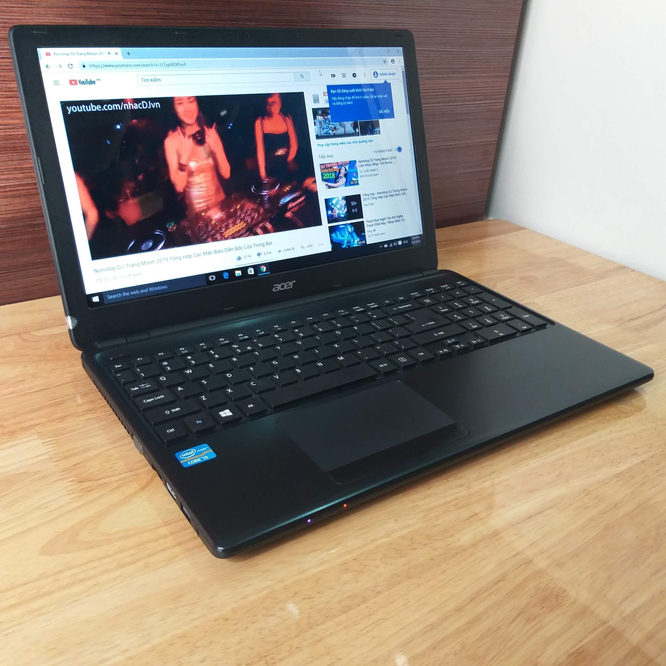 Acer Aspire E1-570, I5 3337U RAM 4GB HDD 500GB