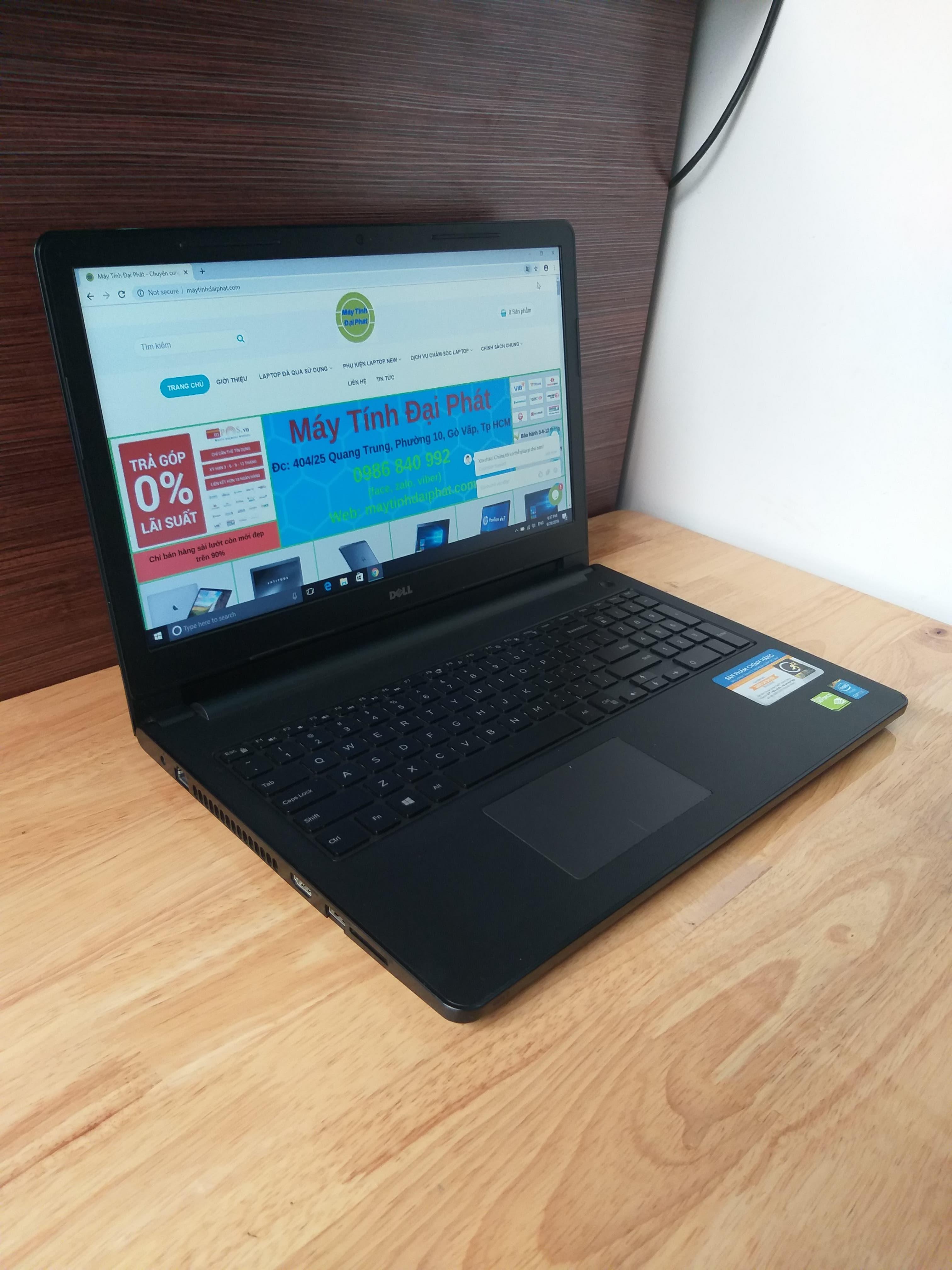 Dell inspiron 3558, I5 5200U RAM 8GB SSD 256GB