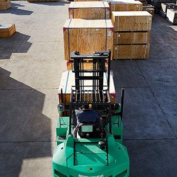Xe nâng 7 tấn chạy dầu