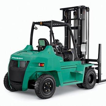 Xe nâng 8 tấn chạy dầu