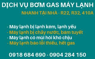 Dịch vụ bơm gas máy lạnh tại nhà nhanh chuyên nghiệp uy tín tại TP HCM