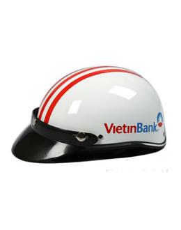 Nón bảo hiểm quảng cáo Viettin - Giá cạnh tranh - Chất lượng không đổi