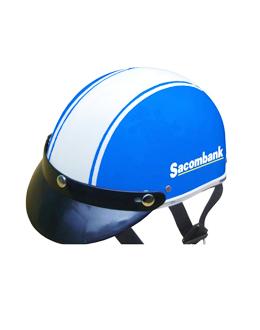 Nón bảo hiểm quảng cáo Sacombank - Quà tặng khách hàng