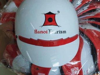 Quà tặng nón bảo hiểm in logo Hồ Chí Minh