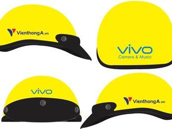 Công ty sản xuất nón bảo hiểm in logo theo yêu cầu