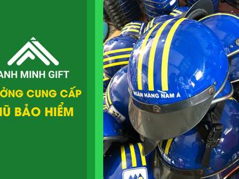 Công ty thiết kế mũ bảo hiểm quảng cáo Anh Minh Gift