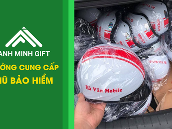 Kinh nghiệm chọn đơn vị sản xuất mũ bảo hiểm quảng cáo tốt