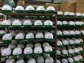 Đơn vị cung cấp nón bảo hiểm in logo Hồ Chí Minh