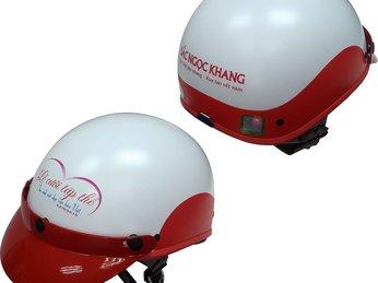 Vì sao nên sử dụng nón bảo hiểm in logo công ty làm sản phẩm quảng cáo ?