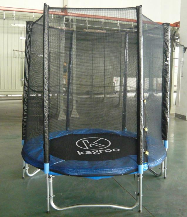 Bạt Nhún Lớn 1,37m Có Lưới Che  (Big Trampoline 4,5ft) - KR4.5FT