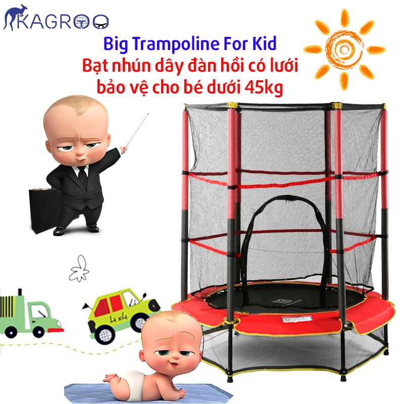 Bạt Nhún Lớn 1,4m Cho Bé (Big Trampoline 4,6ft For Kid) - KR4.6FT-K
