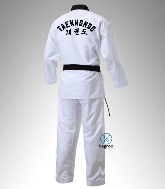 Võ Phục Taekwondo - Hiệu Adidas - Đồ Phong Trào Vải Sọc Tăm