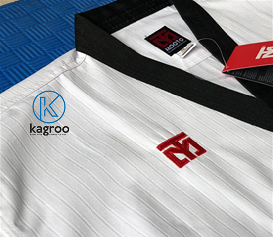 Võ Phục Taekwondo - Hiệu Mooto Đỏ