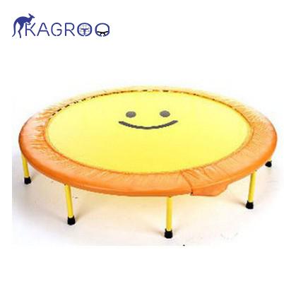 Bạt nhún nhỏ 152cm - Màu vàng - Gập được (Yellow Foldable Mini Trampoline 60inch) - KR60in-VG