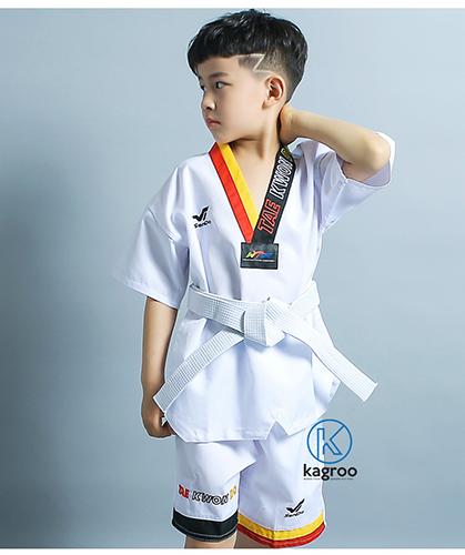 Võ Phục Ngắn Taekwondo - Hiệu Sendo - Đồ Mùa Hè Thoáng Mát