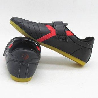 Giày Taekwondo Đen Sọc Chữ Y Vàng / Đỏ