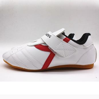 Giày Taekwondo Trắng Sọc Y Vàng / Xanh Dương / Đỏ