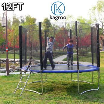 Bạt nhún lớn 3,7m - Cao cấp (Big Trampoline 12ft - Luxury) - KR12FT-LX