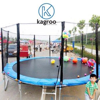 Bạt nhún lớn 4,3m - Cao cấp (Big Trampoline 14ft - Luxury) - KR14FT-LX