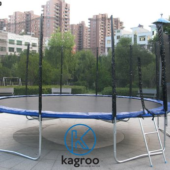 Bạt nhún lớn 4,9m - Cao cấp (Big Trampoline 16ft - Luxury) - KR16FT-LX