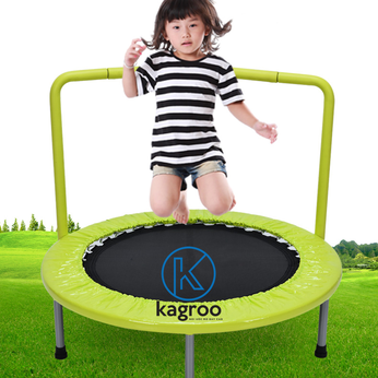 Bạt Nhún Nhỏ 91cm - Tay Vịn (Mini Trampoline With Handle 36inch) - KR36in-HDL