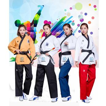 Võ Phục Quyền Taekwondo - Hiệu J-CALICU - Vải Sọc TKD